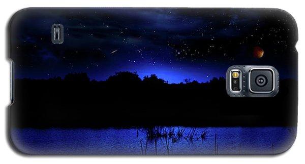 Florida Everglades Lunar Eclipse Galaxy S5 Case
