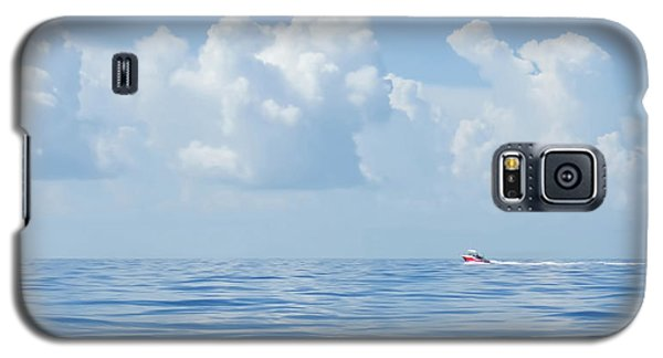 Florida Keys Clouds And Ocean Galaxy S5 Case