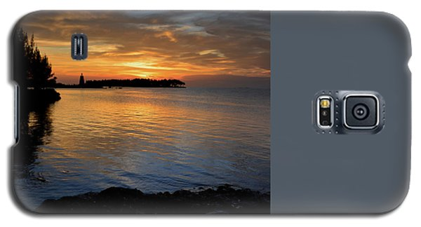 Galaxy S5 Case featuring the photograph Florida Keys Sunset by Stephen  Vecchiotti