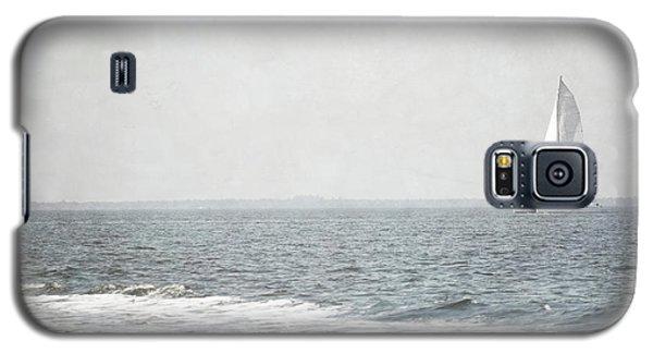 Florida Rustic Sailboat Ocean Landscape Galaxy S5 Case by Andrea Hazel Ihlefeld