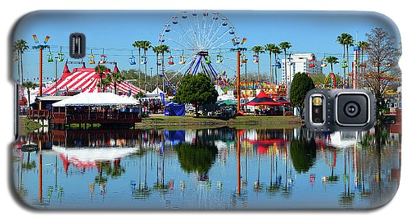 Galaxy S5 Case featuring the photograph Florida State Fair 2017 by David Lee Thompson