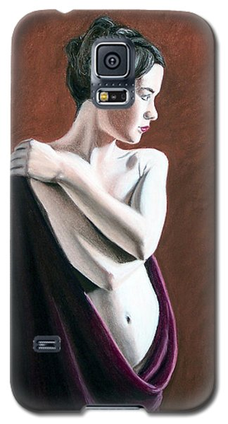 Galaxy S5 Case featuring the painting Flow by Joseph Ogle
