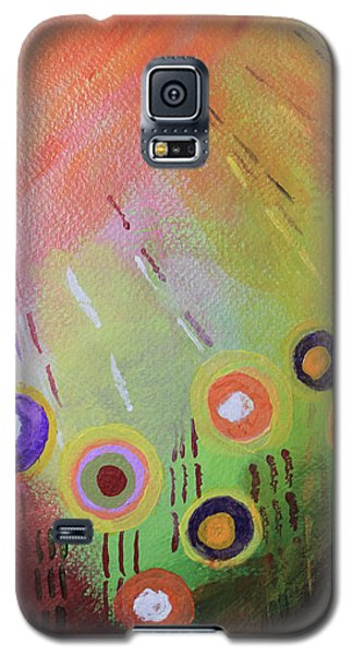 Flower 1 Abstract Galaxy S5 Case