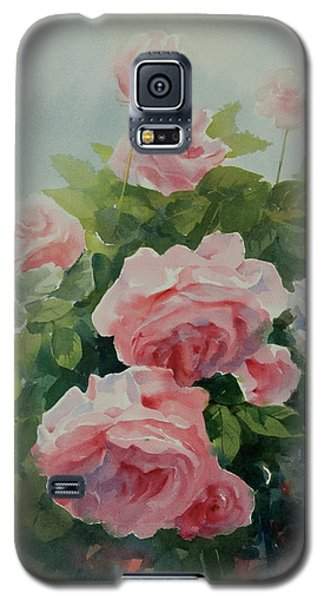 Galaxy S5 Case featuring the painting Flower 11 by Helal Uddin