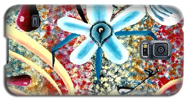 Flower And Ant Galaxy S5 Case by Luke Galutia