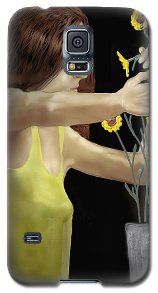 Flower Arranger Galaxy S5 Case