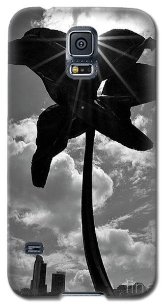 Galaxy S5 Case featuring the photograph Flower Art by Zawhaus Photography
