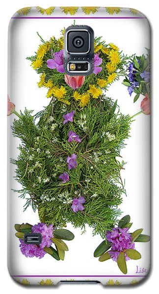 Flower Baby Galaxy S5 Case