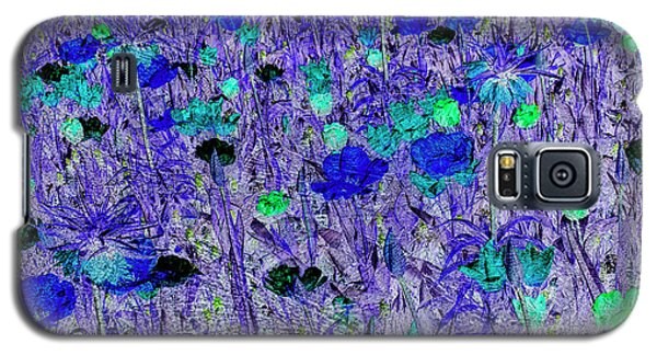 Flower Background Galaxy S5 Case by Patricia Hofmeester