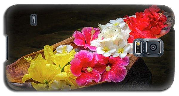 Flower Boat Galaxy S5 Case