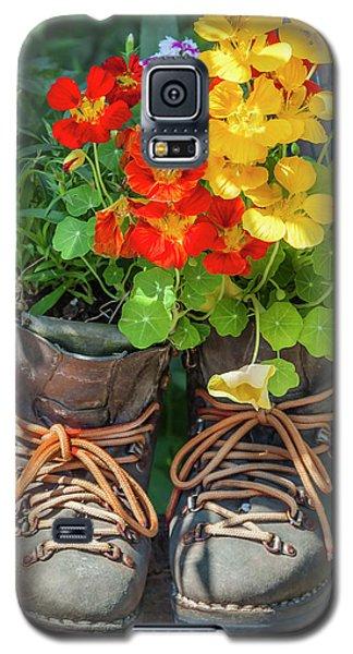 Flower Boots Galaxy S5 Case
