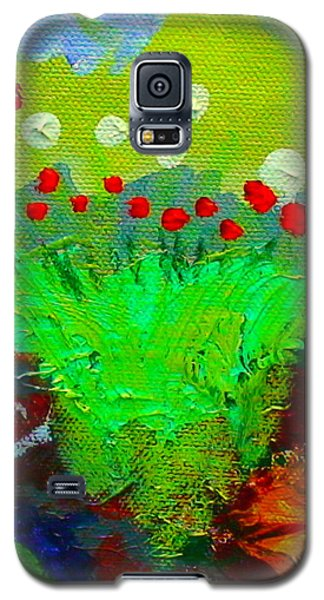 Galaxy S5 Case featuring the painting Flower Buds Detail From The Fairy Queen by Angela Annas