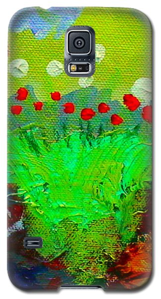 Flower Buds Detail From The Fairy Queen Galaxy S5 Case by Angela Annas