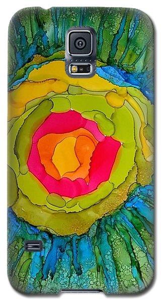 Flower Burst Galaxy S5 Case