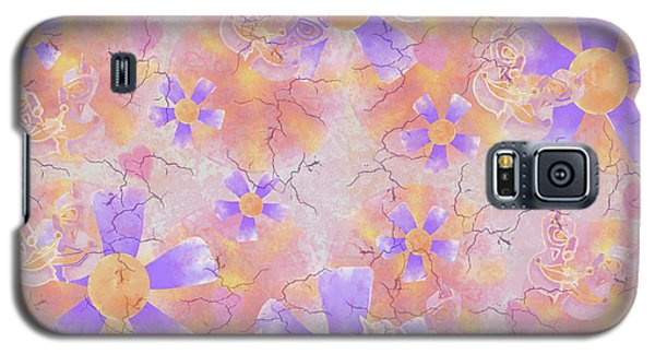 Flower Clown Pattern Galaxy S5 Case