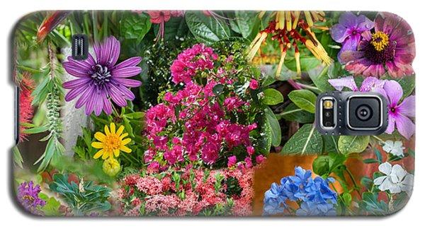 Flower Collage Galaxy S5 Case