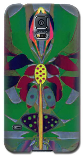 Flower Design Galaxy S5 Case