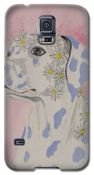 Flower Dog 2 Galaxy S5 Case