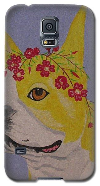 Flower Dog 5 Galaxy S5 Case