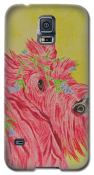 Flower Dog 6 Galaxy S5 Case