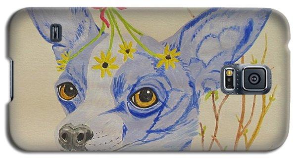 Flower Dog 7 Galaxy S5 Case