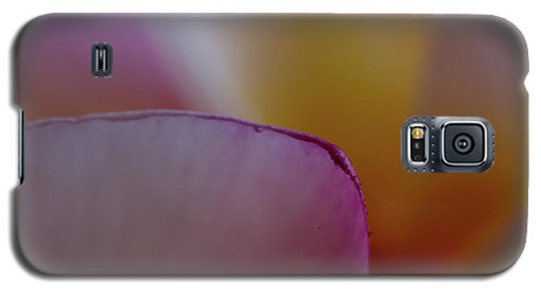 Galaxy S5 Case featuring the photograph Flower Edges by Roger Mullenhour