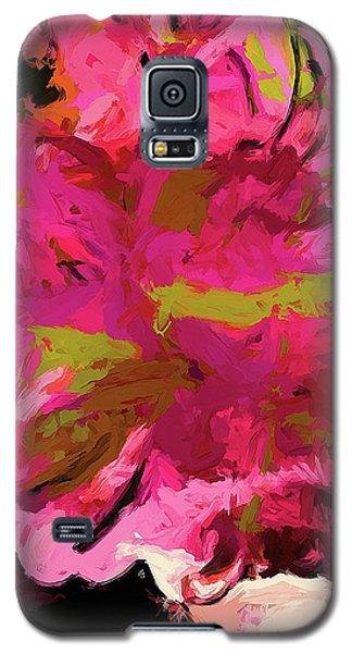 Flower Euphoria Magenta Pink Galaxy S5 Case