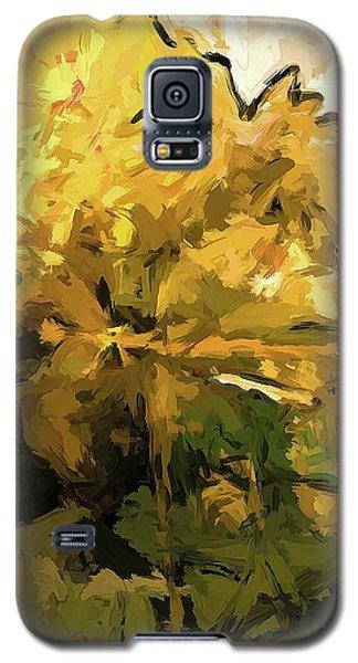 Flower Fresh Sunshine Yellow Galaxy S5 Case