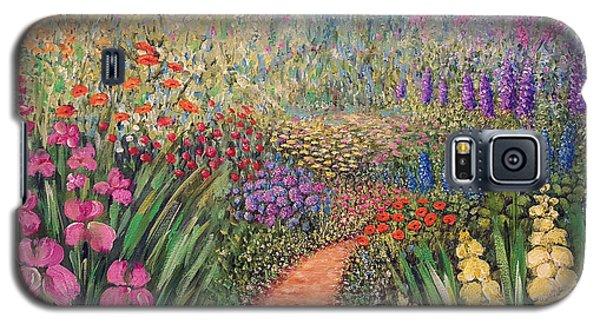 Flower Gar02den  Galaxy S5 Case