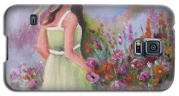 Flower Garden Galaxy S5 Case