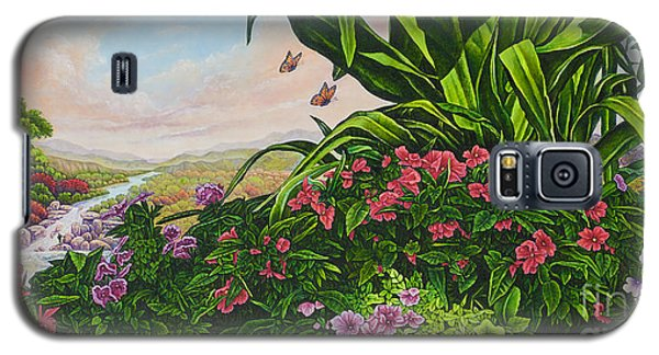 Flower Garden Vii Galaxy S5 Case
