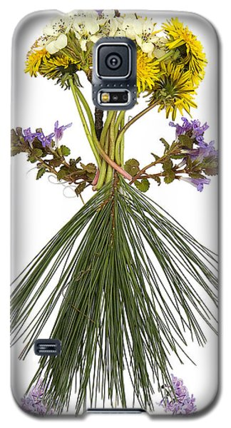Flower Head Galaxy S5 Case