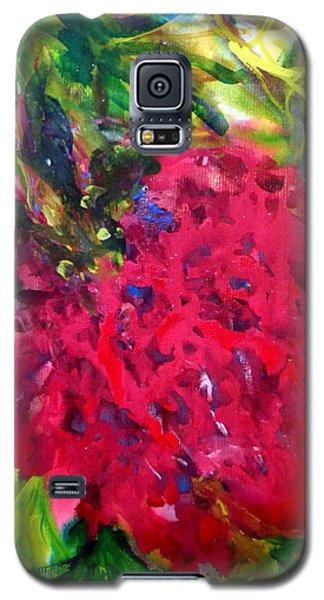 Flower In The Garden Galaxy S5 Case