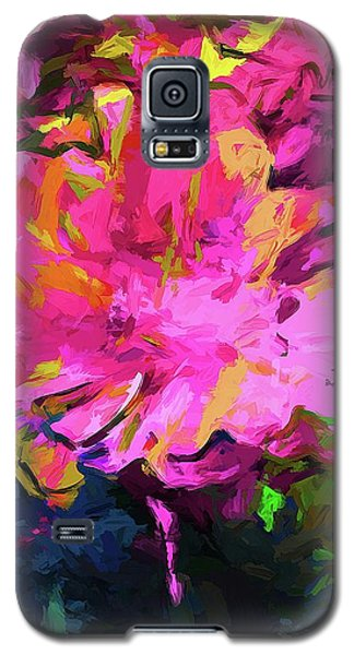 Flower Lolly Pink Yellow Galaxy S5 Case