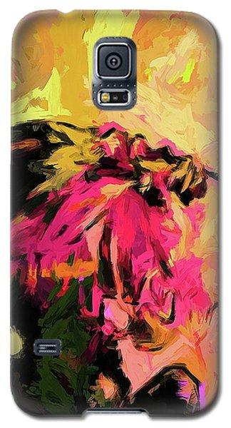 Flower Maelstrom Mushroom Pink Galaxy S5 Case