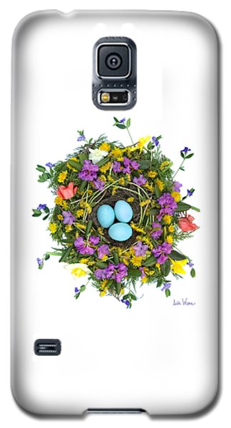 Flower Nest Galaxy S5 Case