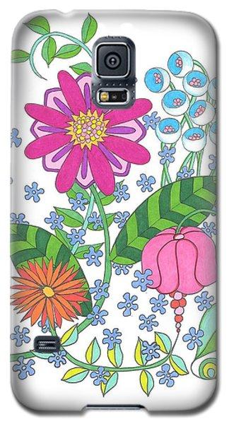 Flower Power 3 Galaxy S5 Case