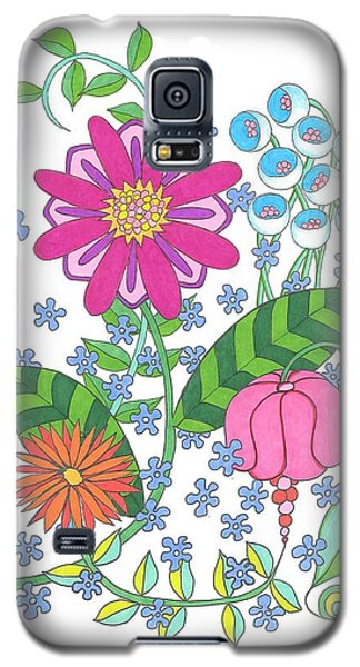 Flower Power 3 Galaxy S5 Case