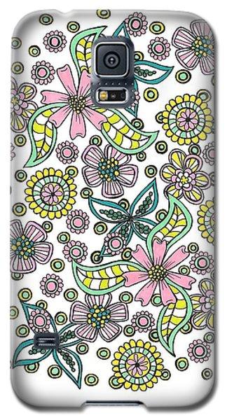 Flower Power 5 Galaxy S5 Case