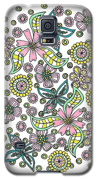 Flower Power 5 Galaxy S5 Case