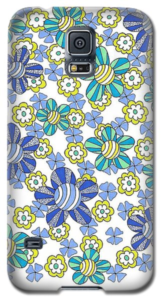 Flower Power 7 Galaxy S5 Case