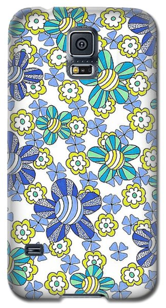 Flower Power 7 Galaxy S5 Case