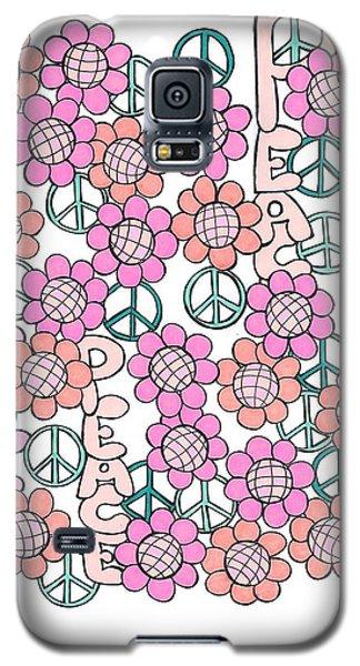 Flower Power 8 Galaxy S5 Case