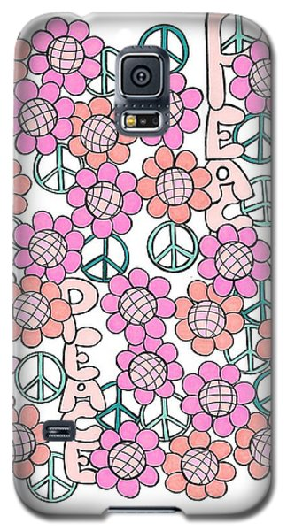Flower Power 8 Galaxy S5 Case