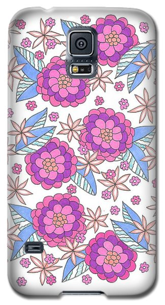 Flower Power 9 Galaxy S5 Case