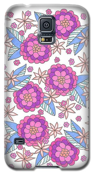 Flower Power 9 Galaxy S5 Case