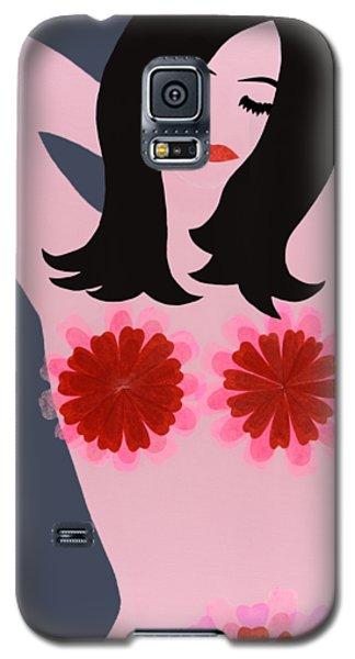 Flower Power - Pink Galaxy S5 Case