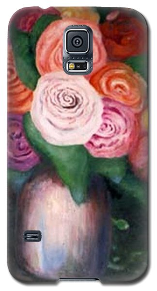 Flower Spirals Galaxy S5 Case