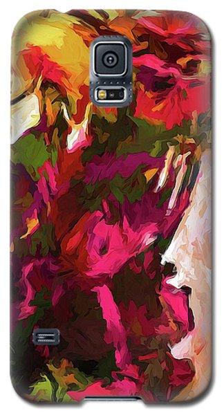 Flower Splash Galaxy S5 Case
