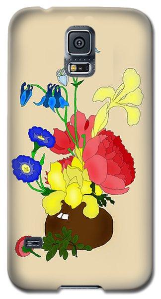 Floral Still Life 1674 Galaxy S5 Case